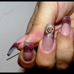 cute nail designs 2 150x150 Latest Nail Art Designs
