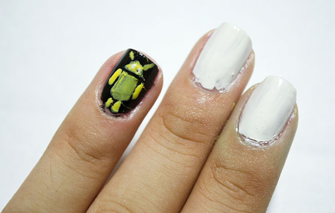 Android Nail art, Android Nail arts, Android Nail Designs at home
