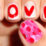 Valentine's Day Step By Step Heart Nails