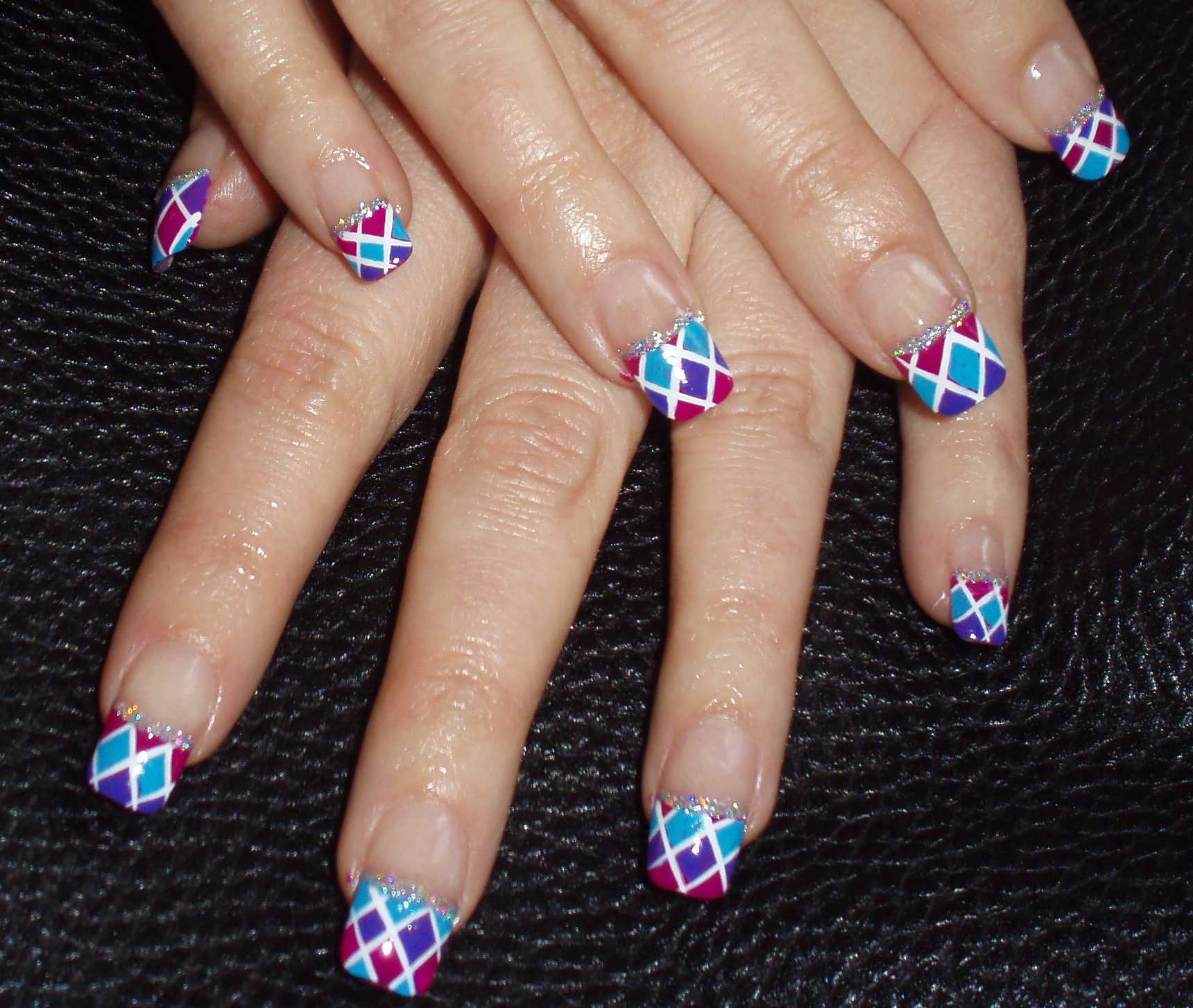 French Nail Art | French Nail Art Designs | French Nails
