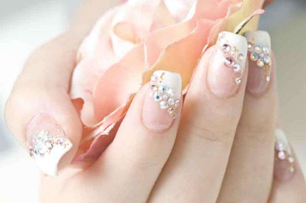 Beautiful Wedding Nail designs - Beautiful Wedding Nail Designs Wedding Nails