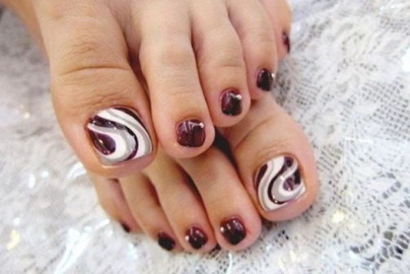 Nail Art Designs For Feet