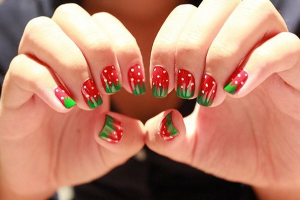Strawberry Nail Arts Designs