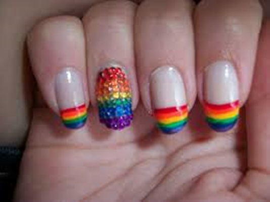 Rainbow Nails by Neo
