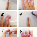 seashell nail art 150x150 Nail designs step by step
