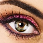 beautiful eyes makeup 1 150x150 Smokey Glitter Eyes