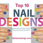 nail art designs 11 150x150 Sparkling Nail Art Design step by step
