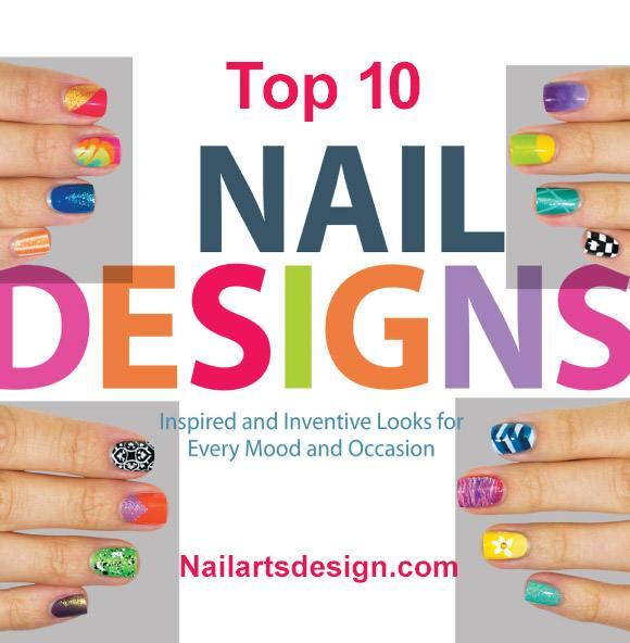 nail art designs 11 Top 10 Nail Designs