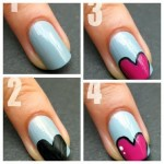 nail art ideas easy step by step 3 150x150 Toothpick Nail Art Tutorial