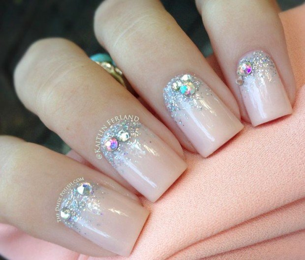 Nails Designs with Rhinestones - Nails Designs With Rhinestones Rhinestone Nail Art Designs