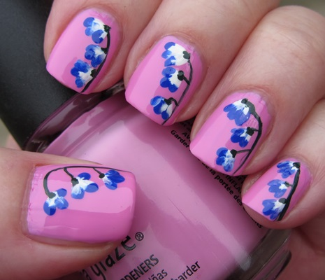 Top 10 Flower Nail Art