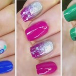 3 nail art designs for winter 150x150 How to Create Watermelon Nail Art Design
