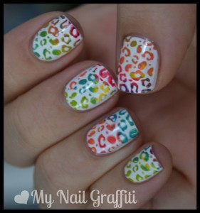 Multicolored Nail Art