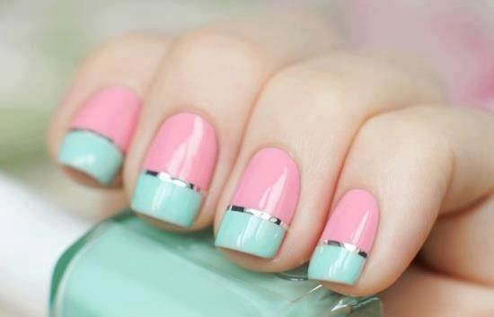 Nail Art Using Scotch Tape 8 10