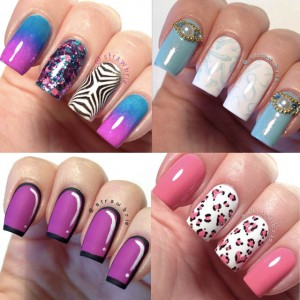 Top 10 Stained Glass Nail Art