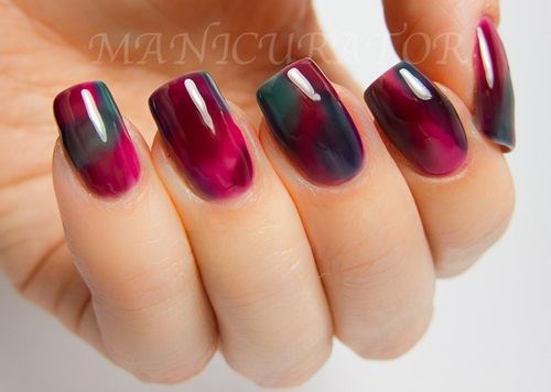 stained glass nail art 8 Top 10 Stained Glass Nail Art