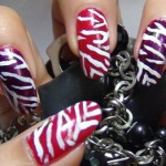 zebra nail art 5 150x150 Easy Nail Art Step by Step Designs