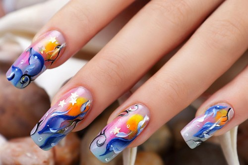 beautiful nails art design 6 Beautiful Nails Art Design