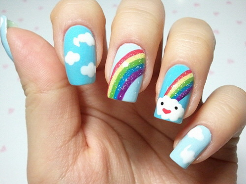 Cute nail art ideas nail art cute designs cute nail art ideas prinsesfo Image collections