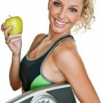 fit woman holding a scale and an apple 150x150 Dos and Do Nots While Trying to Lose Weight