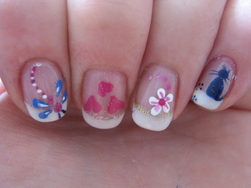 simple nail design ideas 2 Simple Nail Design Ideas
