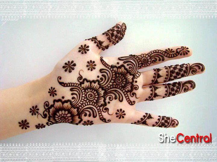 mehendi designs easy 10 Mehendi Designs Easy