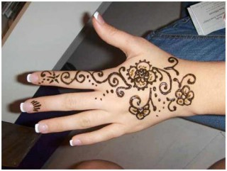 mehendi designs easy 13 Mehendi Designs Easy