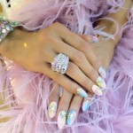Paris Hilton Nail Art