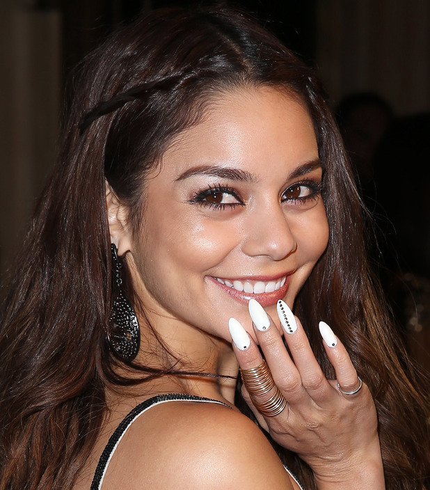 Nail Art Designs - Vanessa Hudgens Nails | Celebrity Nails Vanessa Hudgens Nails