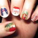 christmas nails 5 150x150 Christmas Nail Art