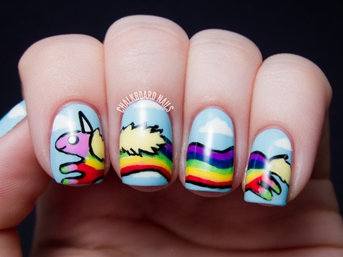 Designs on Nails With Nail Art