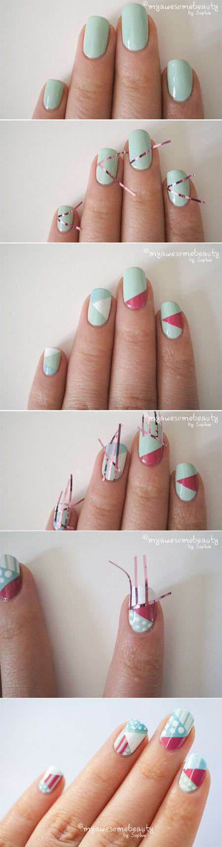 nail art design step by step 2 Nail Art Design Step by Step