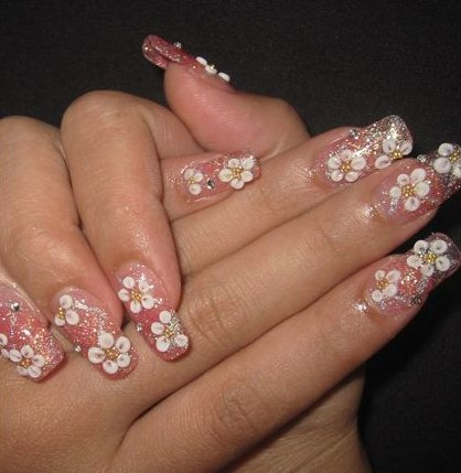 Nail Art Designs With Stones Nailarts Ideas