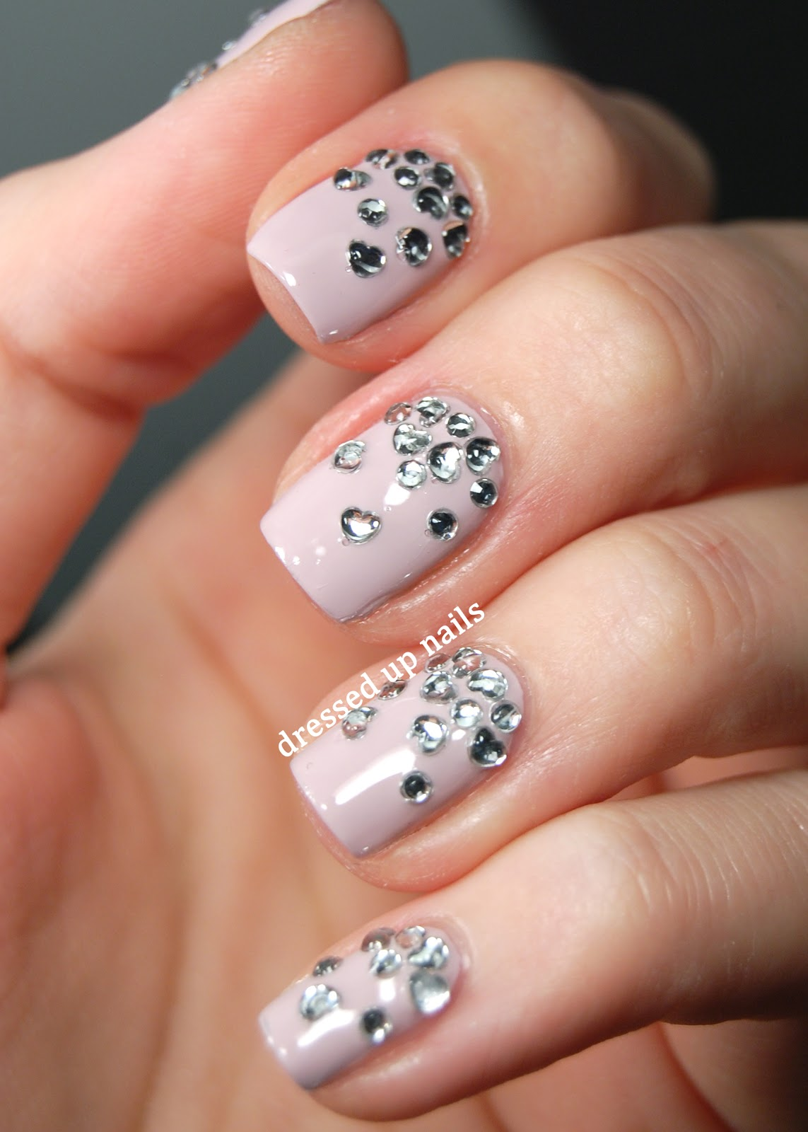Rhinestone Nail Art and Rhinestone Nail Designs