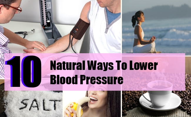 Top 10 Ways to Keep Low Blood Pressure without Medicine