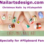 christmas nails flipboard 150x150 Nail Art For Christmas 2015