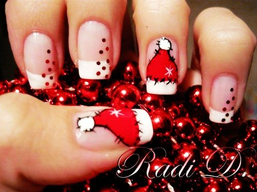 Nail Art For Christmas 2015 Christmas Nail Art