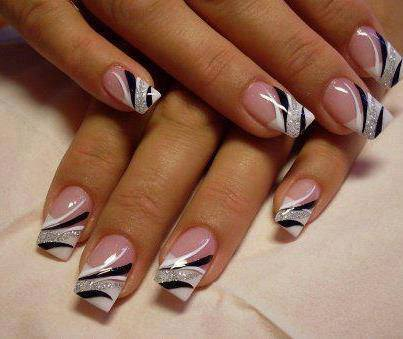 New year nail designs nail art new year 2015 new year nail designs prinsesfo Images