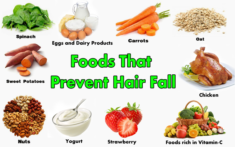 Foods To Prevent Hair Fall