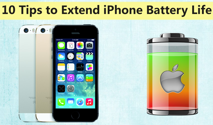 10 Tips to Extend iPhone Battery Life