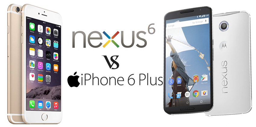Nexus 6 vs iPhone 6 Plus iPhone 6 Plus Vs Nexus 6 Comparison