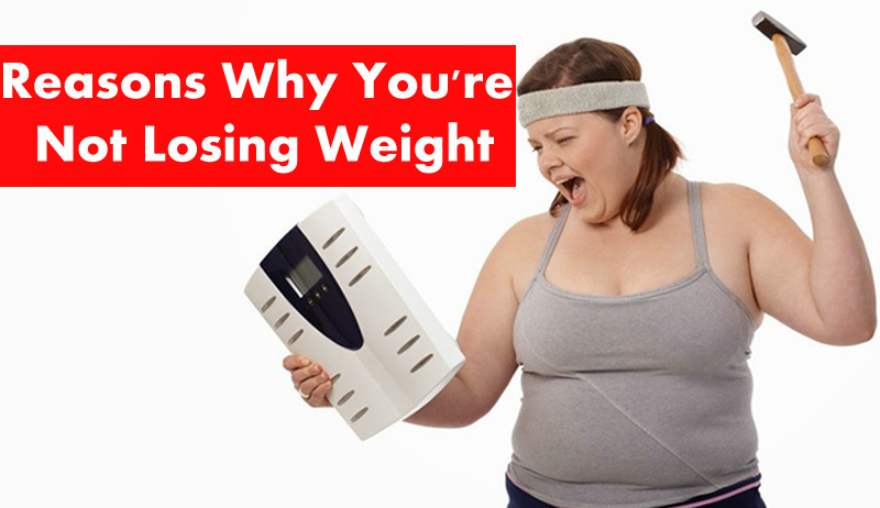 Reasons Why Youre Not Losing Weight Reasons Why You're Not Losing Weight