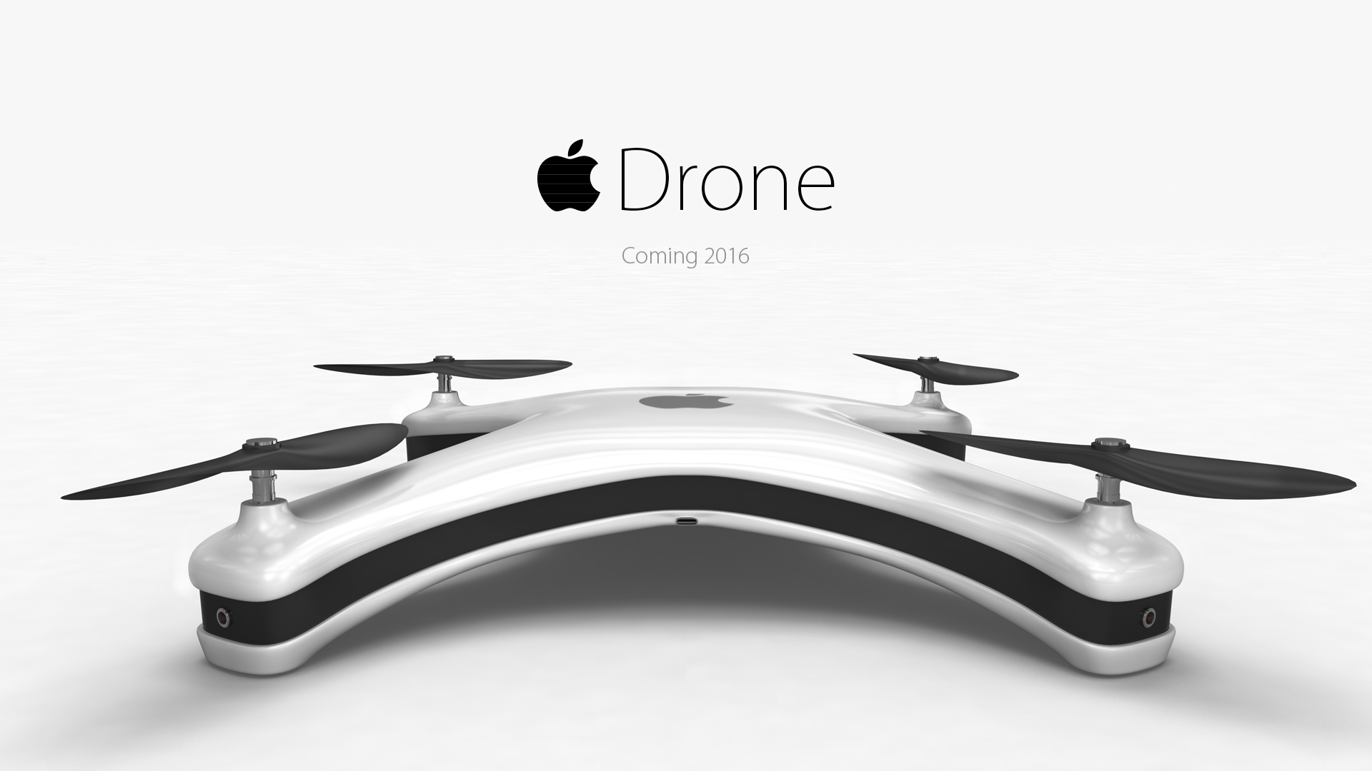 apple drone Introduction Would You Like This Apple Drone Concept?