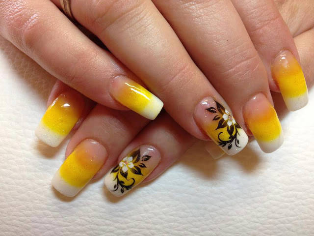 6 flower nail art designs best nail designs 6 flower nail art designs prinsesfo Images