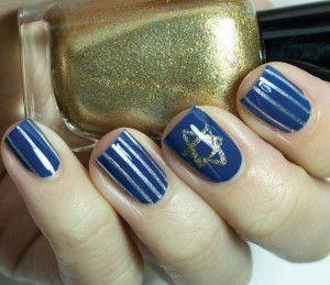Star Of David Nail Art