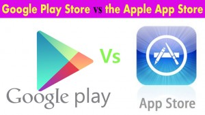 Google Play Store vs Apple App Store: by The Numbers (2015)