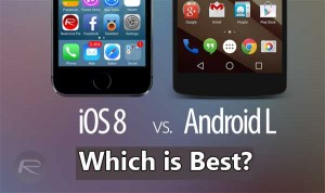 Apple iOS 8 v Android 5.1 – Which is Best?