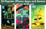 10 Popular iPhone Apps and Games on Sale for $0.99