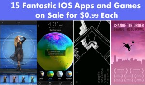15 Fantastic iPhone Apps and Games on Sale For $0.99