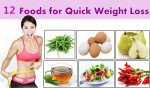 12 Foods for Quick Weight Loss